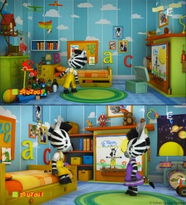 Zou's bedroom