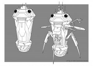 alien drone-Guillaume Laigle