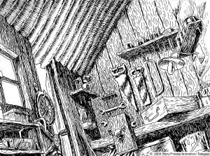 cabane grand-père-Guillaume Laigle